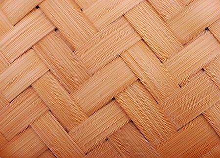 bamboo woven detail