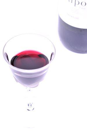 highkey: glass of wine in highkey