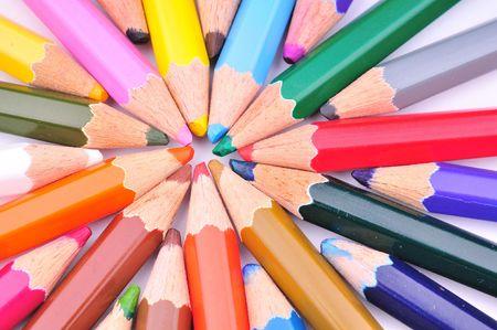 色鉛筆 写真素材