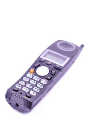 handset: telephone handset