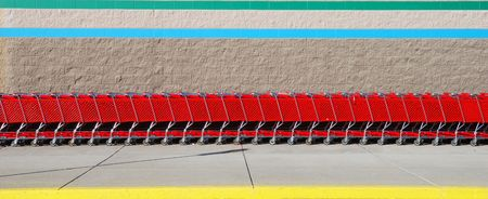 shopping carts Stock Photo - 4223647