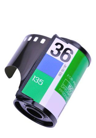 35mm film canister Reklamní fotografie