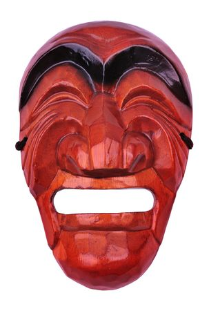 korean traditional male mask 免版税图像 - 4223825