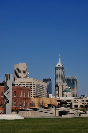 indianapolis: downtown Indianapolis