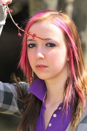 teenager Reklamní fotografie