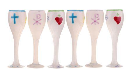 first communion cups Фото со стока