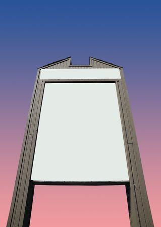 ad: billboard Stock Photo