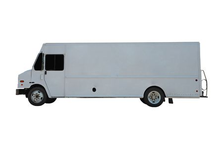 commercial delivery vehicle