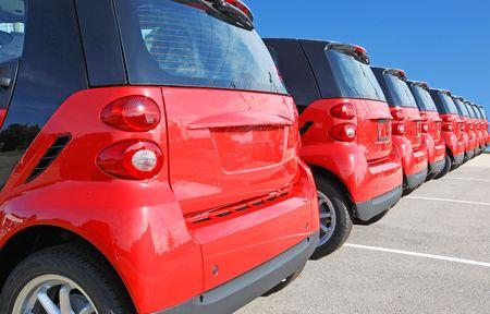 new car Standard-Bild