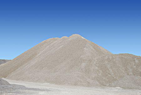 sand pile Standard-Bild
