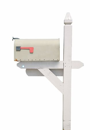 standard steel: mail box