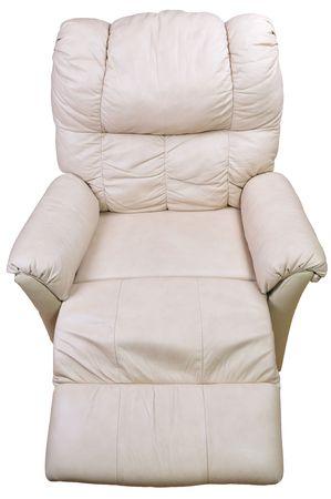 reclinable de cuero