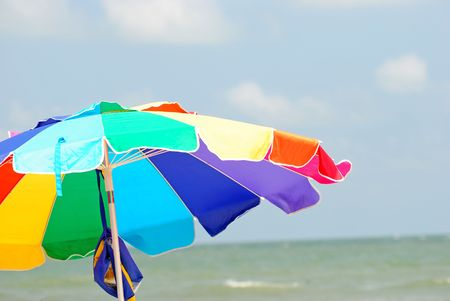 beach parasol Reklamní fotografie