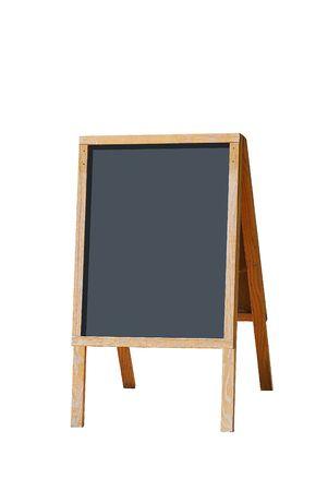 portable blackboard Reklamní fotografie
