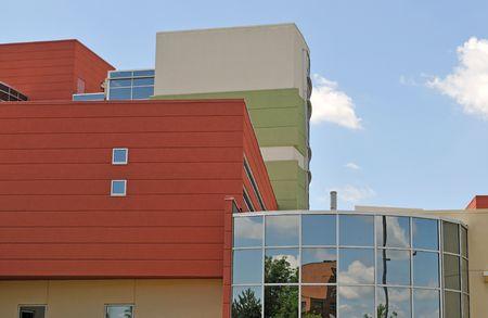modern office building Reklamní fotografie