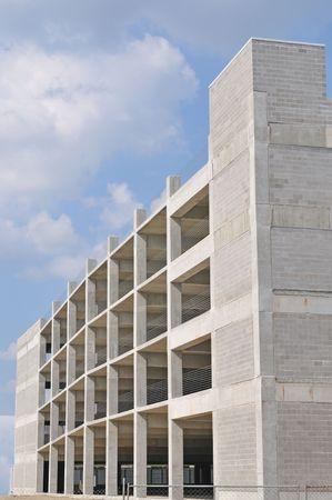 parking garage building photo