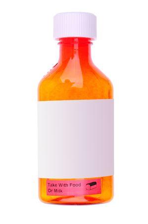 linctus: medicine bottle