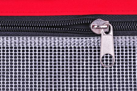 zipper and fabric background photo