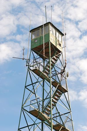 lookout tower in the scenic route photo