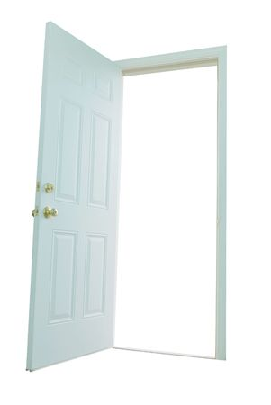 glass door: entry door
