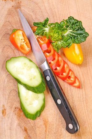 カット野菜 写真素材