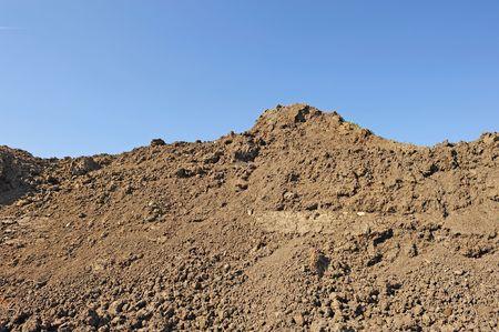 stockpile of dirt