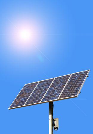 solar energy Reklamní fotografie