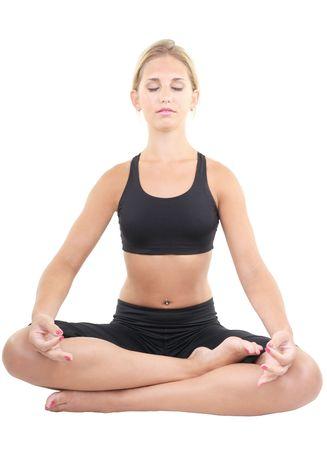 yoga Reklamní fotografie - 7077801