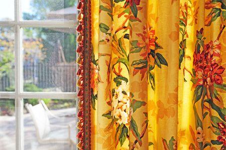 telon de fondo: cortina  Foto de archivo