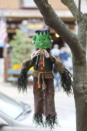 halloween scarecrow photo