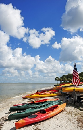 canoe Reklamní fotografie