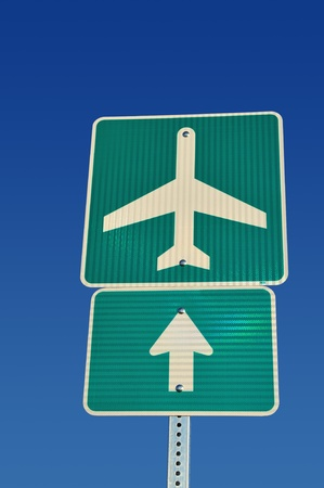 airport sign Reklamní fotografie