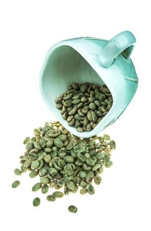 fresh dried ethiopian coffee bean photo
