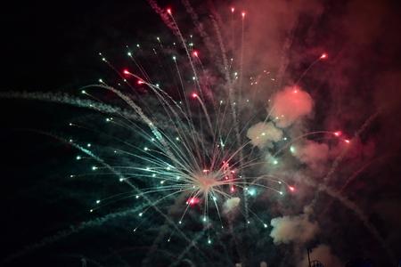 fireworks Reklamní fotografie