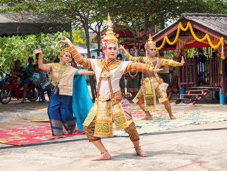 thai dance: Thai Dance Editorial