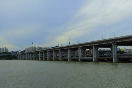 Banpo Bridge and Sipo Bridge