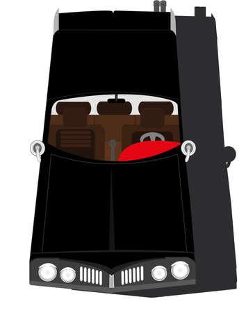 classic cars: classic cars Illustration
