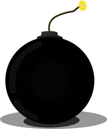 the bomb Illusztráció