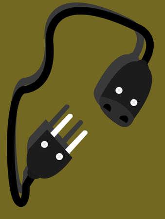 paraphernalia: the plug Illustration