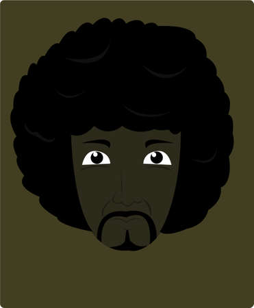 frizzy: afro people Illustration