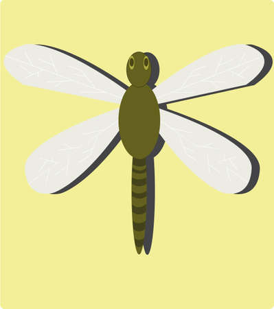factions: the dragonfly Illustration