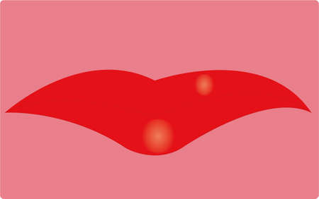 voluptuous: the lips Illustration