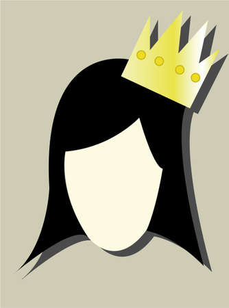 funny pictures: the logo princess Illustration