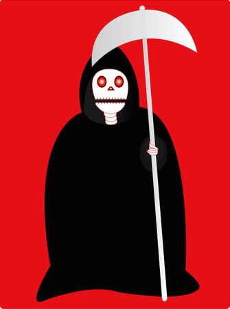creepy: creepy skull