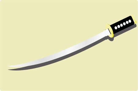slasher: the japanese sword Illustration