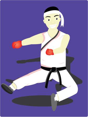 backlash: the karate man