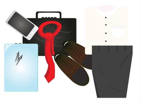 pantaloon: the office stuff Illustration