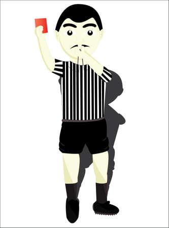 arbitro: el árbitro de fútbol