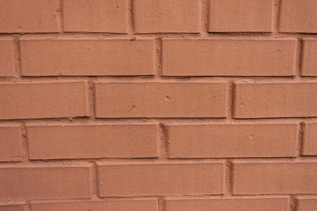 tileable: New red brick wall texture seamlessly tileable Stock Photo