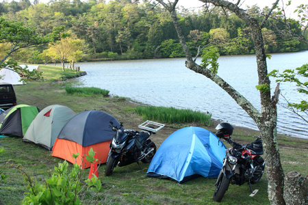 Shidaka Lake is a wonderful landscape campsite.